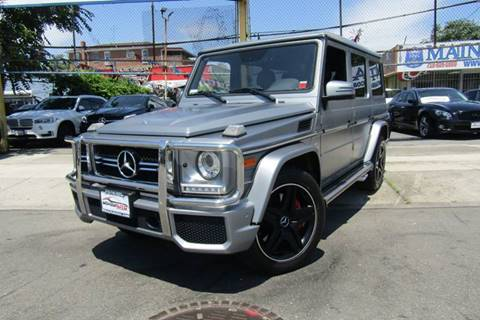 2016 Mercedes-Benz G-Class for sale at MIKEY AUTO INC in Hollis NY