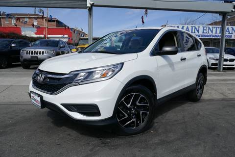 2016 Honda CR-V for sale at MIKEY AUTO INC in Hollis NY