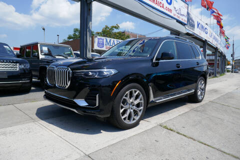 2019 BMW X7 for sale at MIKEY AUTO INC in Hollis NY