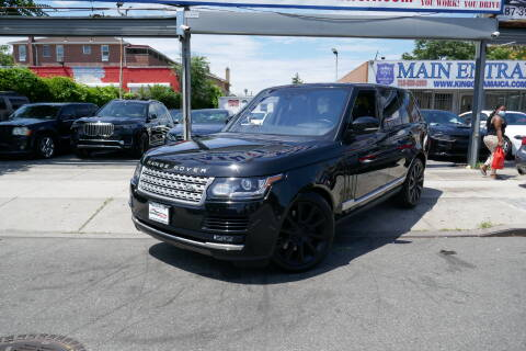 2017 Land Rover Range Rover for sale at MIKEY AUTO INC in Hollis NY