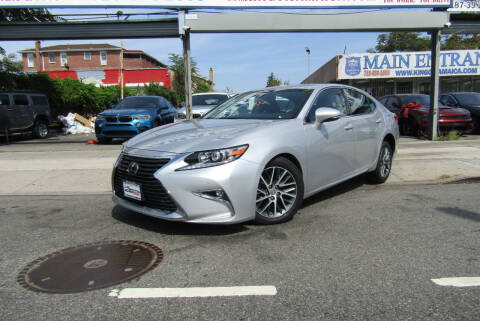 2018 Lexus ES 350 for sale at MIKEY AUTO INC in Hollis NY