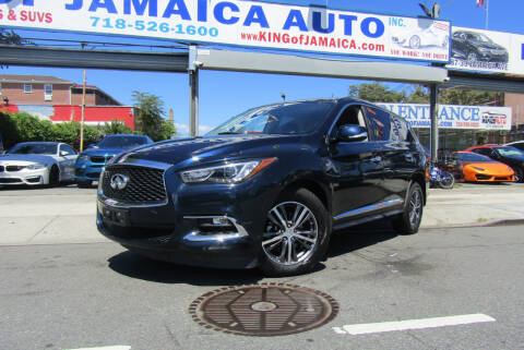 2018 Infiniti QX60 for sale at MIKEY AUTO INC in Hollis NY