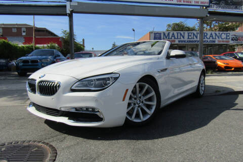 2017 BMW 6 Series for sale at MIKEY AUTO INC in Hollis NY