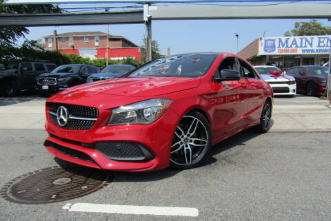 2018 Mercedes-Benz CLA for sale at MIKEY AUTO INC in Hollis NY