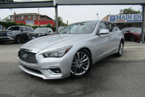 2019 Infiniti Q50 for sale at MIKEY AUTO INC in Hollis NY