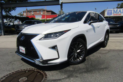 2018 Lexus RX 450h for sale at MIKEY AUTO INC in Hollis NY