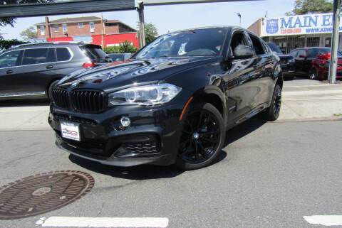 2017 BMW X6 for sale at MIKEY AUTO INC in Hollis NY