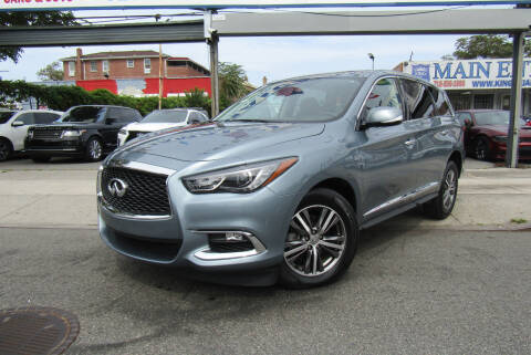 2019 Infiniti QX60 for sale at MIKEY AUTO INC in Hollis NY