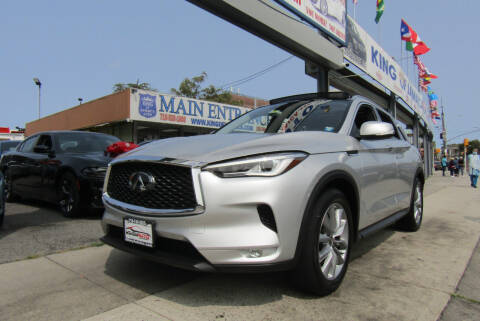 2019 Infiniti QX50 for sale at MIKEY AUTO INC in Hollis NY