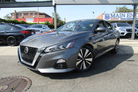 2019 Nissan Altima for sale at MIKEY AUTO INC in Hollis NY