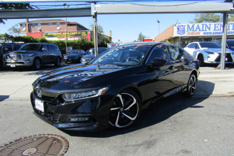 2020 Honda Accord for sale at MIKEY AUTO INC in Hollis NY