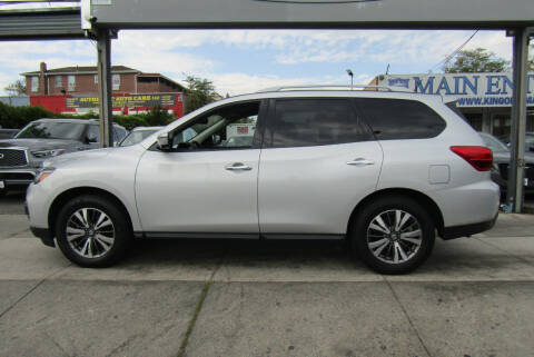 2018 Nissan Pathfinder for sale at MIKEY AUTO INC in Hollis NY