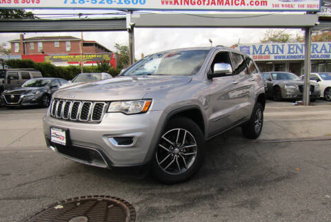 2017 Jeep Grand Cherokee for sale at MIKEY AUTO INC in Hollis NY