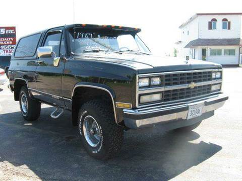 1989 Chevrolet Blazer for sale at Bowties ETC INC in Cambridge MN