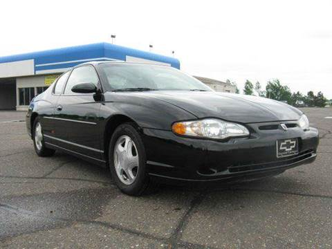 2001 Chevrolet Monte Carlo for sale at Bowties ETC INC in Cambridge MN