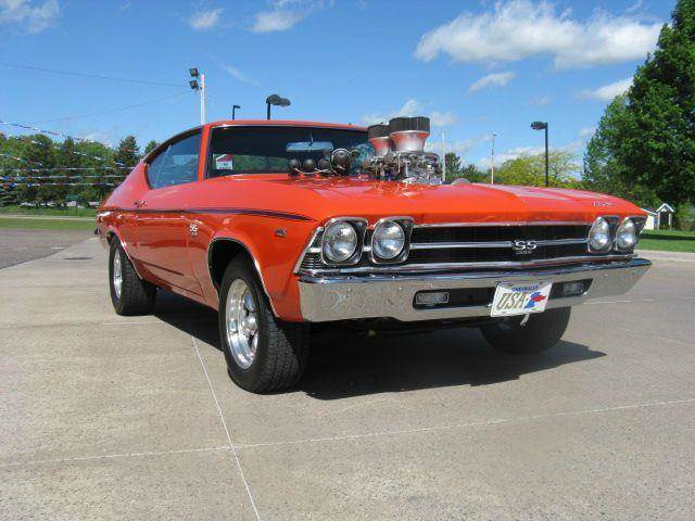 1969 Chevrolet Chevelle for sale at Bowties ETC INC in Cambridge MN