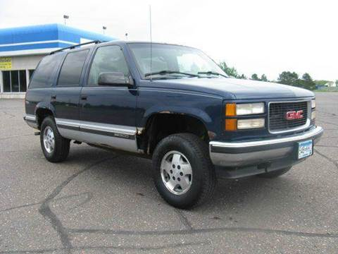 1995 GMC Yukon for sale at Bowties ETC INC in Cambridge MN
