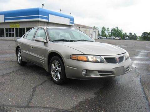2002 Pontiac Bonneville for sale at Bowties ETC INC in Cambridge MN