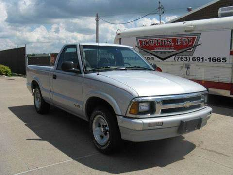 1997 Chevrolet S-10 for sale at Bowties ETC INC in Cambridge MN