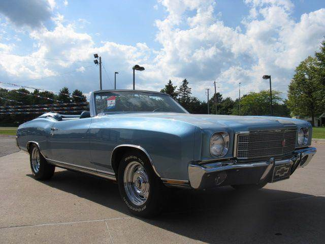 1970 Chevrolet Monte Carlo for sale at Bowties ETC INC in Cambridge MN