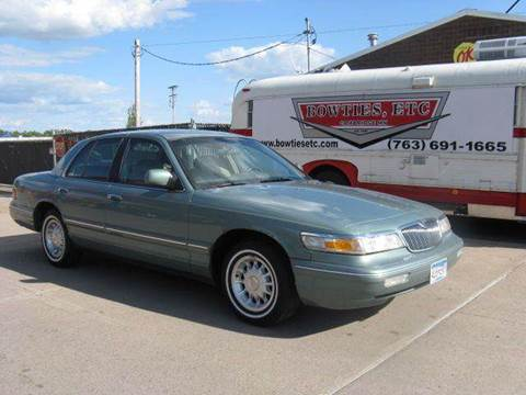 1997 Mercury Grand Marquis for sale at Bowties ETC INC in Cambridge MN