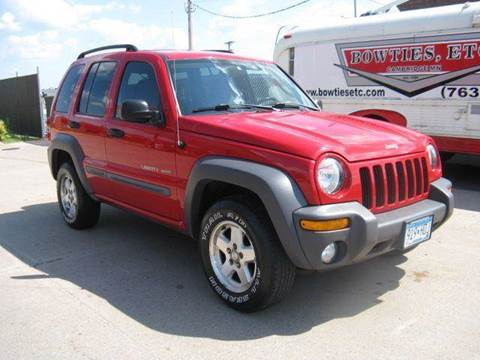 2003 Jeep Liberty for sale at Bowties ETC INC in Cambridge MN