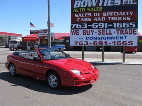 2000 Pontiac Sunfire for sale at Bowties ETC INC in Cambridge MN