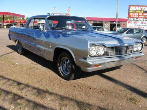 1964 Chevrolet Impala for sale at Bowties ETC INC in Cambridge MN