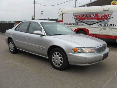 2002 Buick Century for sale at Bowties ETC INC in Cambridge MN