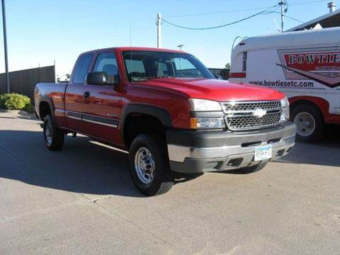 2005 Chevrolet Silverado 2500HD for sale at Bowties ETC INC in Cambridge MN