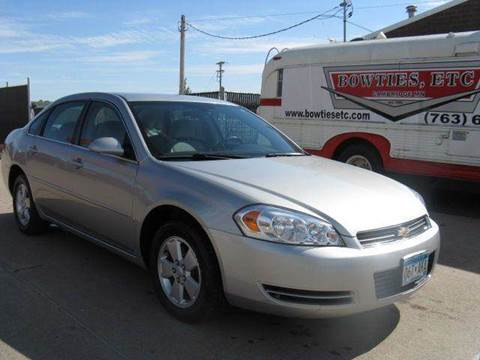 2008 Chevrolet Impala for sale at Bowties ETC INC in Cambridge MN