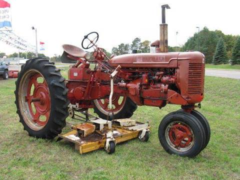 1950 McCormick Farmall for sale at Bowties ETC INC in Cambridge MN
