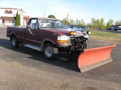 1993 Ford F-150 for sale at Bowties ETC INC in Cambridge MN
