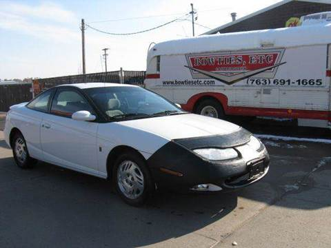 2001 Saturn S-Series for sale at Bowties ETC INC in Cambridge MN