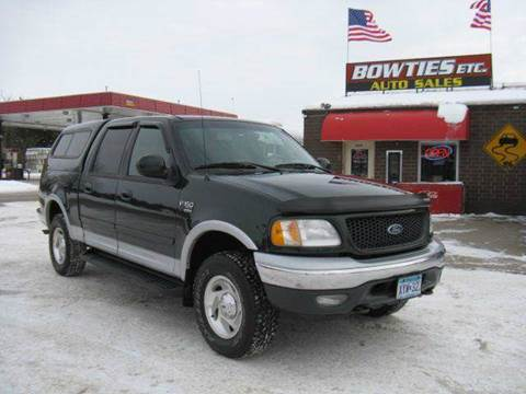 2001 Ford F-150 for sale at Bowties ETC INC in Cambridge MN