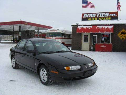 2000 Saturn S-Series for sale at Bowties ETC INC in Cambridge MN