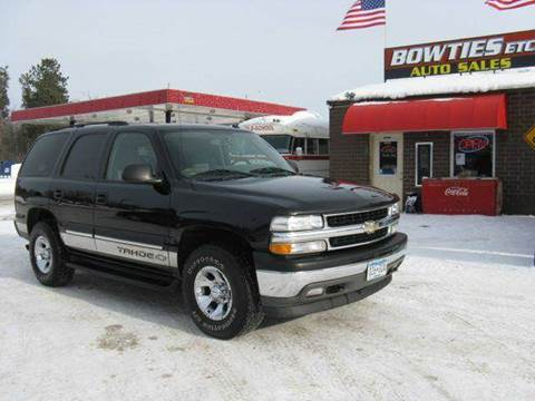 2005 Chevrolet Tahoe for sale at Bowties ETC INC in Cambridge MN