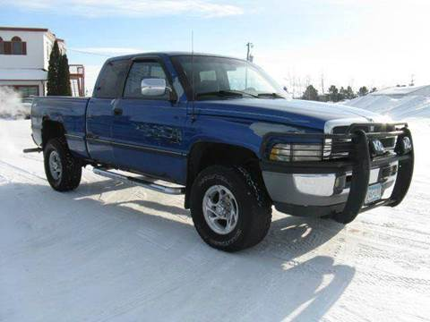 1997 Dodge Ram Pickup 1500 for sale at Bowties ETC INC in Cambridge MN
