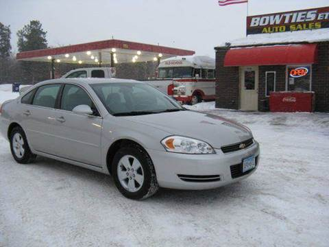 2007 Chevrolet Impala for sale at Bowties ETC INC in Cambridge MN