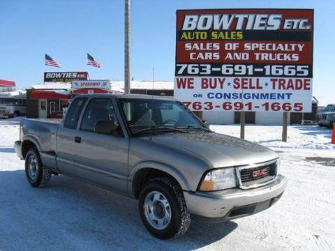 1999 GMC Sonoma for sale at Bowties ETC INC in Cambridge MN