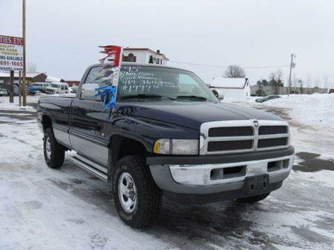 1995 Dodge Ram Pickup 1500 for sale at Bowties ETC INC in Cambridge MN
