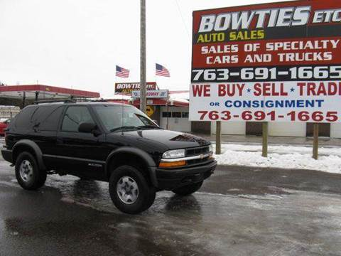 2004 Chevrolet Blazer for sale at Bowties ETC INC in Cambridge MN
