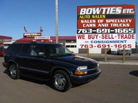1999 Chevrolet Blazer for sale at Bowties ETC INC in Cambridge MN