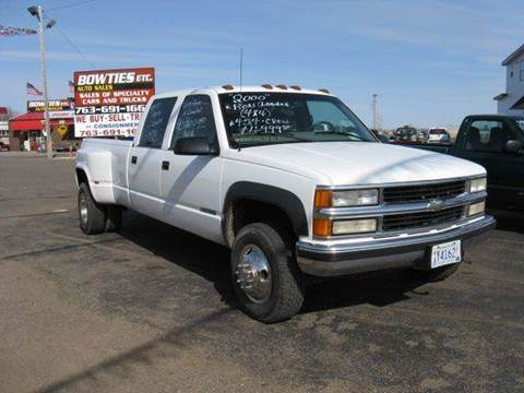 2000 Chevrolet C/K 3500 Series for sale at Bowties ETC INC in Cambridge MN