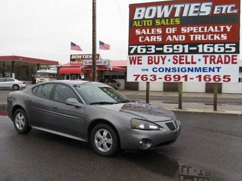 2008 Pontiac Grand Prix for sale at Bowties ETC INC in Cambridge MN
