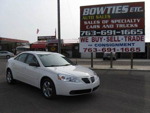 2007 Pontiac G6 for sale at Bowties ETC INC in Cambridge MN