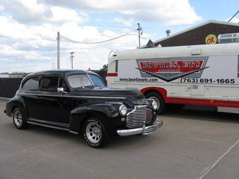 1941 Chevrolet Deluxe for sale at Bowties ETC INC in Cambridge MN