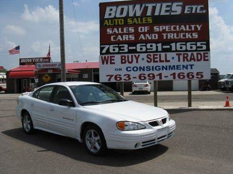 2001 Pontiac Grand Am for sale at Bowties ETC INC in Cambridge MN