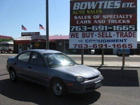 1995 Dodge Neon for sale at Bowties ETC INC in Cambridge MN