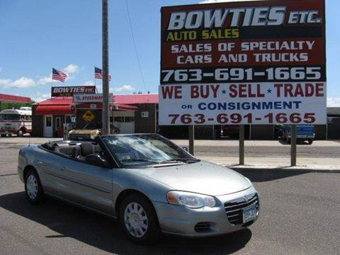 2004 Chrysler Sebring for sale at Bowties ETC INC in Cambridge MN